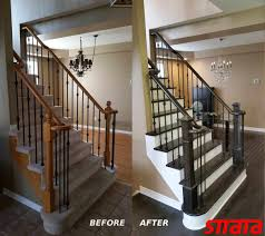 stair refinishing in newmarket ontario u2013 strataline inc