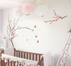 Cherry Blossom Tree Wall Decal For Nursery Tiktak Removable Cherry Blossom Japanese