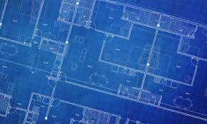 blueprint floor plan clean architecture floor plan background blueprint style abstract