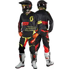 motocross helmet brands scott 2017 mx new 350 dirt black yellow jersey pant dirt bike