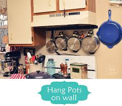 Hanging Pot Rack In Cabinet by 8 Smart Organizing Tips For The Kitchen