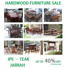 Outside Patio Furniture Sale by Ipe Teak And Jarrah Outdoor Patio Furniture Ipe Casual Baltimore Md