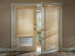 window treatments for french doors free box pleated valance over