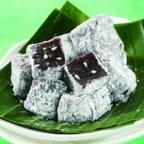 membuat kue dari tepung ketan kue mochi ketan hitam