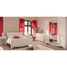 conforama chambre adulte chambre adulte complète 140 190 pin blanc gentiane l 140 x l