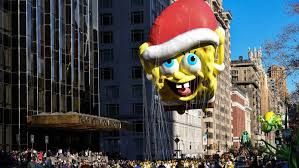 spongebob squarepants gets mixed reviews at macy s thanksgiving day