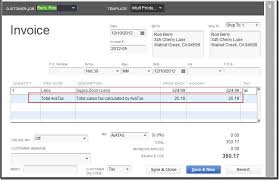 sales tax invoice managing quickbooks sales tax with avatax calc accountex report
