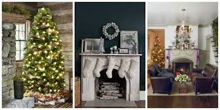 Holiday Home Decor Ideas 26 Best Christmas Home Tours Houses Decorated For Christmas