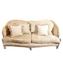 contemporary barrel back sofa by schnadig ebth