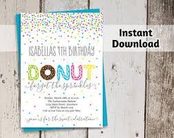 kids party invitations instant invitation