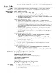 good objective for customer service resume bunch ideas of ramp agent sample resume with cover letter awesome collection of ramp agent sample resume about free