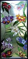 Flower Glass Design Orchid Window Ii Kelley Studios Stained Glass Stained Glass