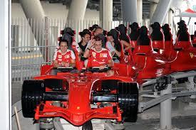 in abu dhabi roller coaster fernando alonso felipe massa abu dhabi 2010 f1