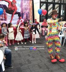 rent a clown for a birthday party backdrop clown magician banner bunting tarpaulin rental