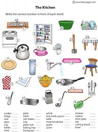 Bathroom Related Words Lots Of Worksheets For Common Objects Categories Colors Shapes