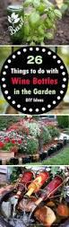 Diy Ideas For Flower Bed Walls Best 10 Wine Bottle Garden Ideas On Pinterest Plastic Watering
