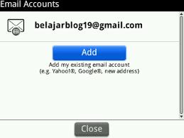 cara membuat yahoo mail di blackberry cara setting akun email anda di blackberry