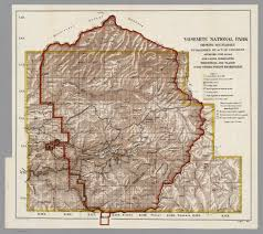 Map Of Yosemite Re Video Mono Lake And Bodie
