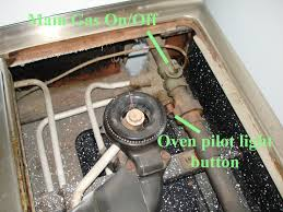 where is the pilot light on a gas oven corvallis no chaos no order