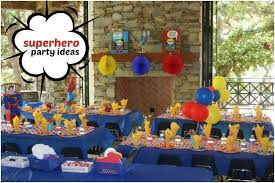 party ideas for themed birthday party for 4 year boys spaceships and