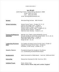 First Time Resume Samples by First Time Resume Template Sample Resume For Teenagers First Job