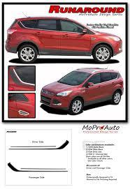 Ford Escape Colors 2016 - runaround ford escape upper body line vinyl graphics decal