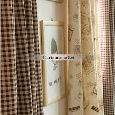 Curtain Stores Curtains Stores And Bowtie Khaki Color Linen Fabric