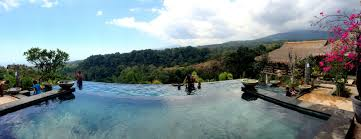 getting more experience enjoying a swim in infinity pool at if you would like to enjoy the fun swim in the infinity pool at rinjani lodge you can take a trip of about three hours mataram