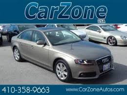 2011 audi a4 maintenance schedule all used vehicles at the lowest prices in baltimore carzone usa