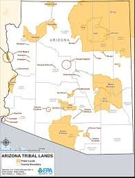 Arizona Casinos Map by Arizona Indian Reservations Reservations By State Aaa Native Arts