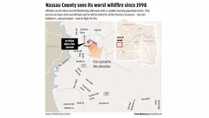 Fl Wildfire Map by Fire Crews Prevent Nassau Wildfire From Spreading Residents Can