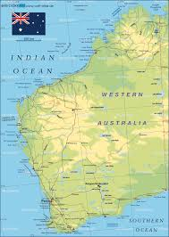 Map Of South Physical Map Of South Australia Australia Fair Australian Lakes