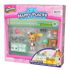 amazon com shopkins happy places kitty kitchen welcome pack toys amazon com shopkins happy places kitty kitchen welcome pack toys games