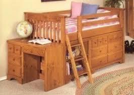 Short Loft Bed Loft Bed With Desk And Drawers Foter