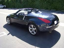 blue nissan 350z 2006 nissan 350z silverstone roadster