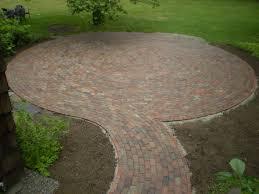 Brick Patio Design Patterns by Maine Stonework Masonry Hardscaping Perennial Stone