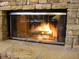 backyards installation pleasant hearth fireplace glass door