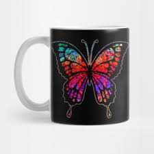 psychedelic butterfly retro t shirt teepublic