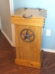 kitchen trash bin cabinet wooden garbage bins plans wooden trash can holder plans wooden