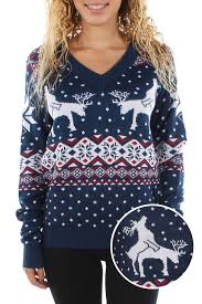 s reindeer climax sweater tipsy elves