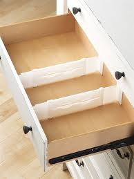ybmhome adjustable drawer dividers and drawer organizer clutter