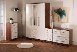 walnut and white bedroom furniture bedroom furniture white gloss interior design
