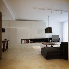 modern nice design of the cream brown open plan modern living that
