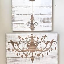 shop distressed white wood wall decor on wanelo