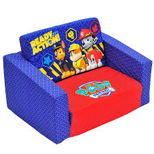Kids Flip Out Sofa Bed With Sleeping Bag Paw Patrol Flip Out Sofa Target Australia