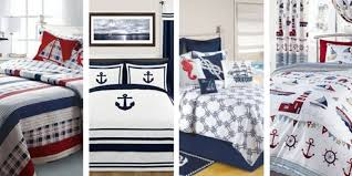 theme comforters best nautical quilts and nautical bedding sets beachfront decor