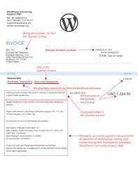 creating sponsor invoices make wordpress communities video