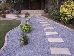 natural stones edging and gravel landscaping ideas u2014 jbeedesigns
