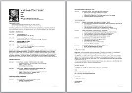 How To Make A Resume For A Job by 100 Make A Resume For Free Resume Free Sample Of Cv