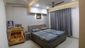 interior design mandir home interior flat by sanket rudani interior designer in ahmedabad